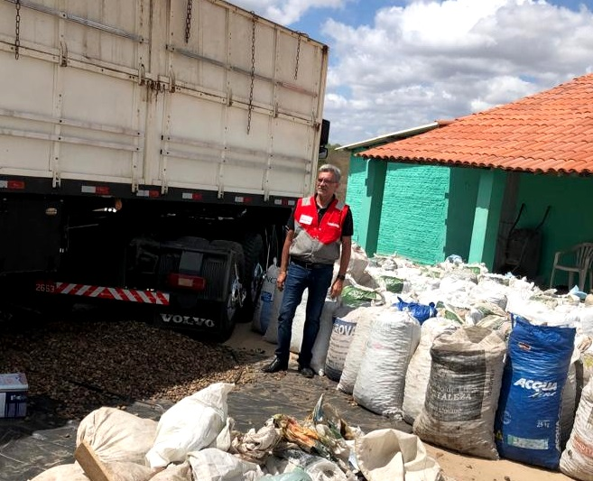 Imagem Sefaz apreende 20 toneladas de castanha de caju sem documento fiscal